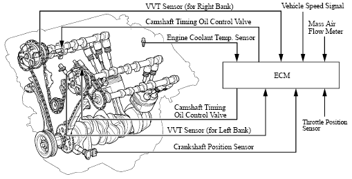 Vvt Variable Valve Timing on Honda Accord Serpentine Belt Diagram
