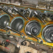 Ford 6Liter Diesel stud replacement