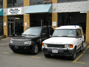 Land Rover and Range Rover