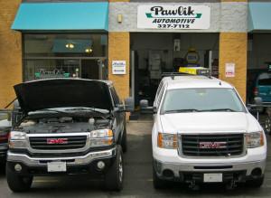 GMC diesel pickups