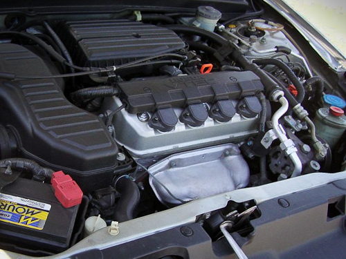 The highly reliable 1.7 liter Honda engine