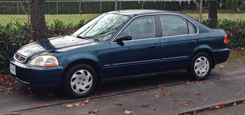 1996 honda civic  an extremely reliable and well built car