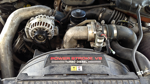2006 Ford F350 Super Duty 6.0L Diesel - M1 Maintenance Service- Pawlik Automotive Repair ...