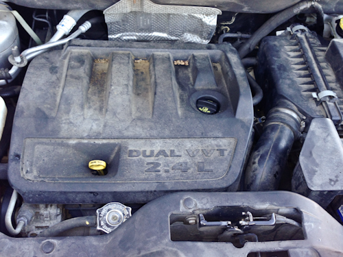 2007 jeep patriot fuel filter location