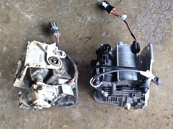 Land Rover Lr on ford fuel pump replacement