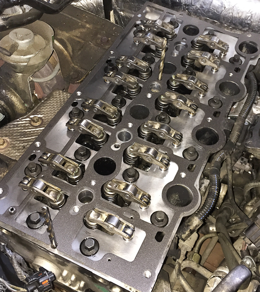 jeep liberty 2.8 diesel rocker arms