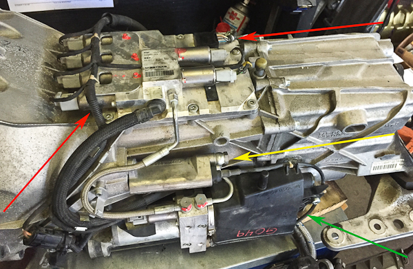 2006 BMW M6 - Transmission Hydraulic Unit Replacement- Pawlik
