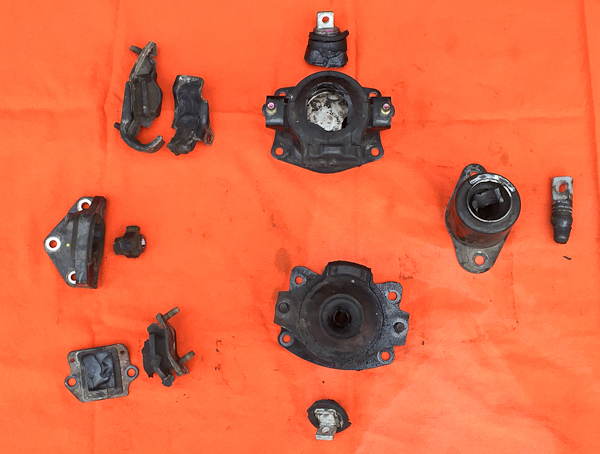 Broken Motor Mount Repair Acura TL Pawlik Automotive Repair - Acura tl motor mount