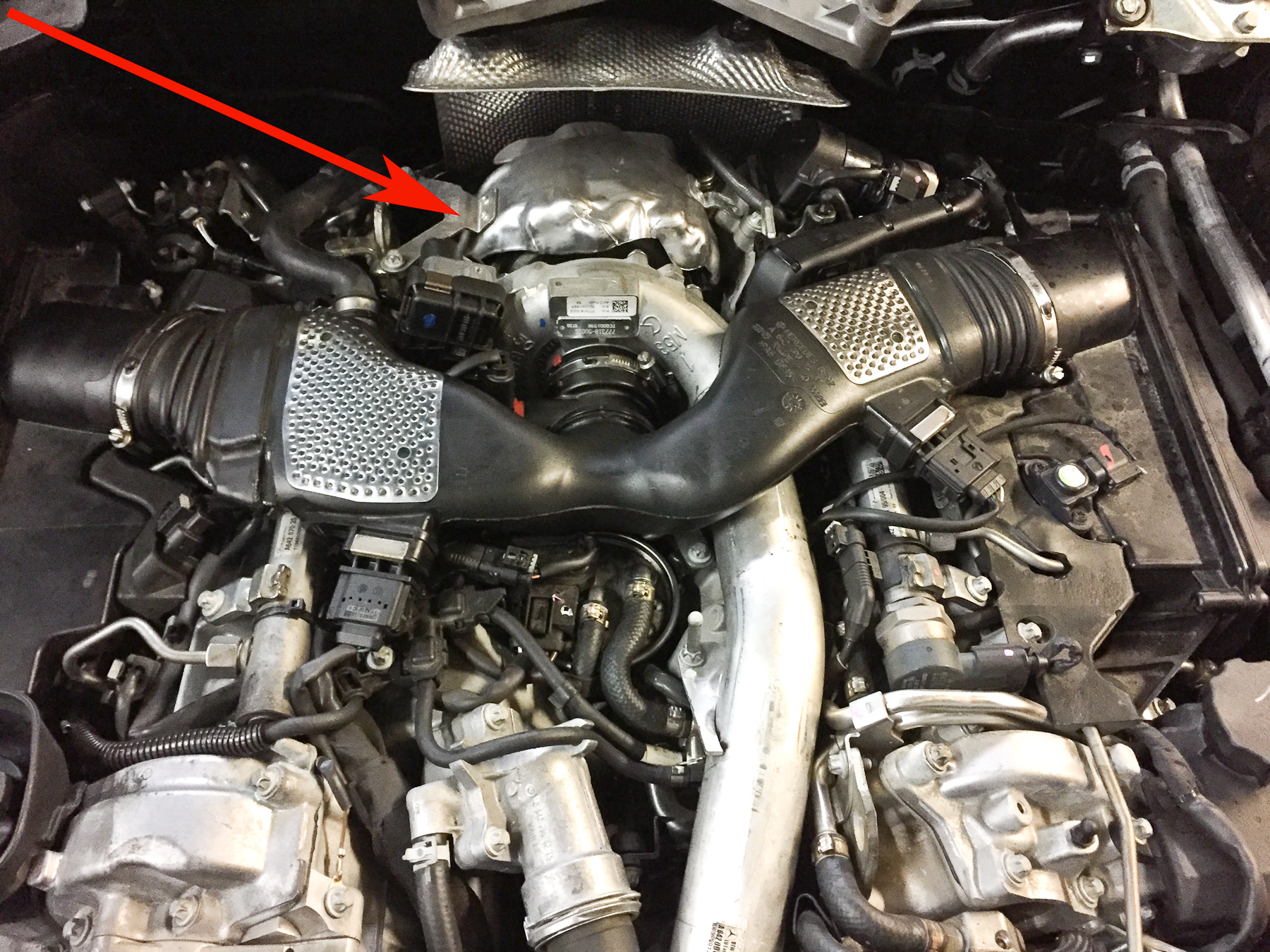 2012 Mercedes-Benz GL350 Turbocharger Replacement- Pawlik