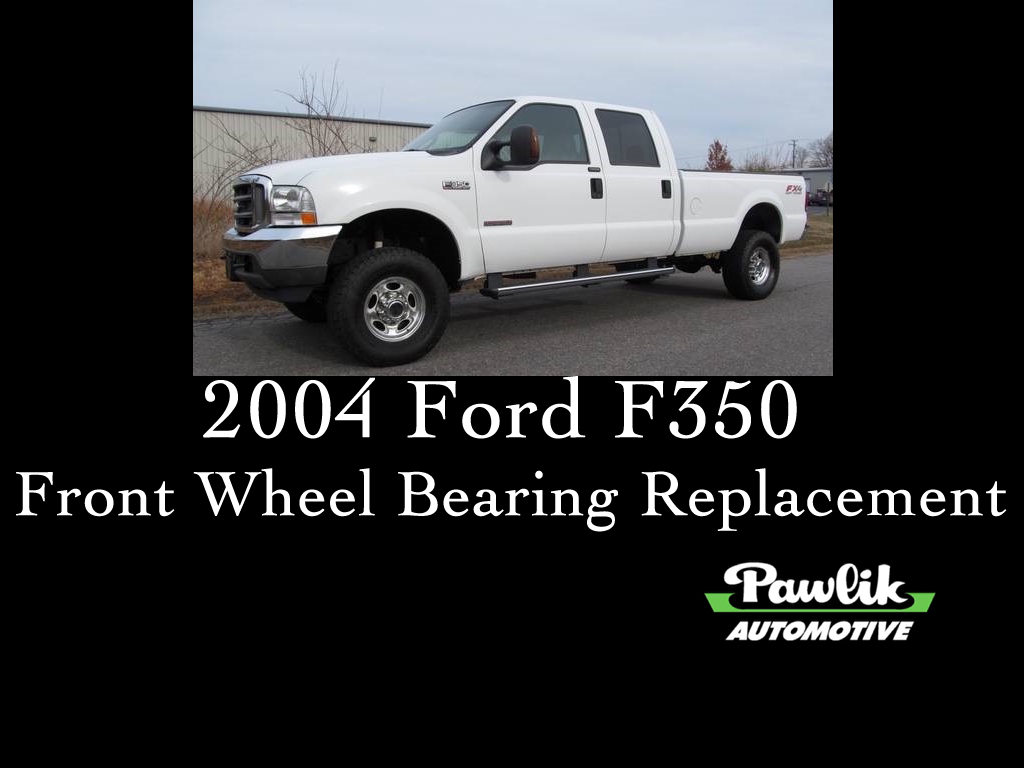Blog Pawlik Automotive Repair Vancouver Bc Vacuum Diagram For A2001 Ford Lightning 5 4l Supercharged Engine 2004 F350 Front Wheel Bearing Replacement