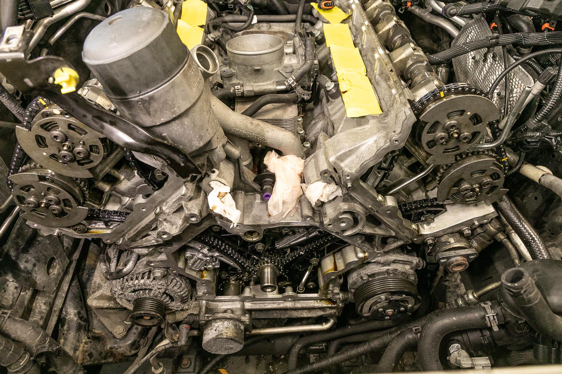 2012 Range Rover Timing Chain Repair
