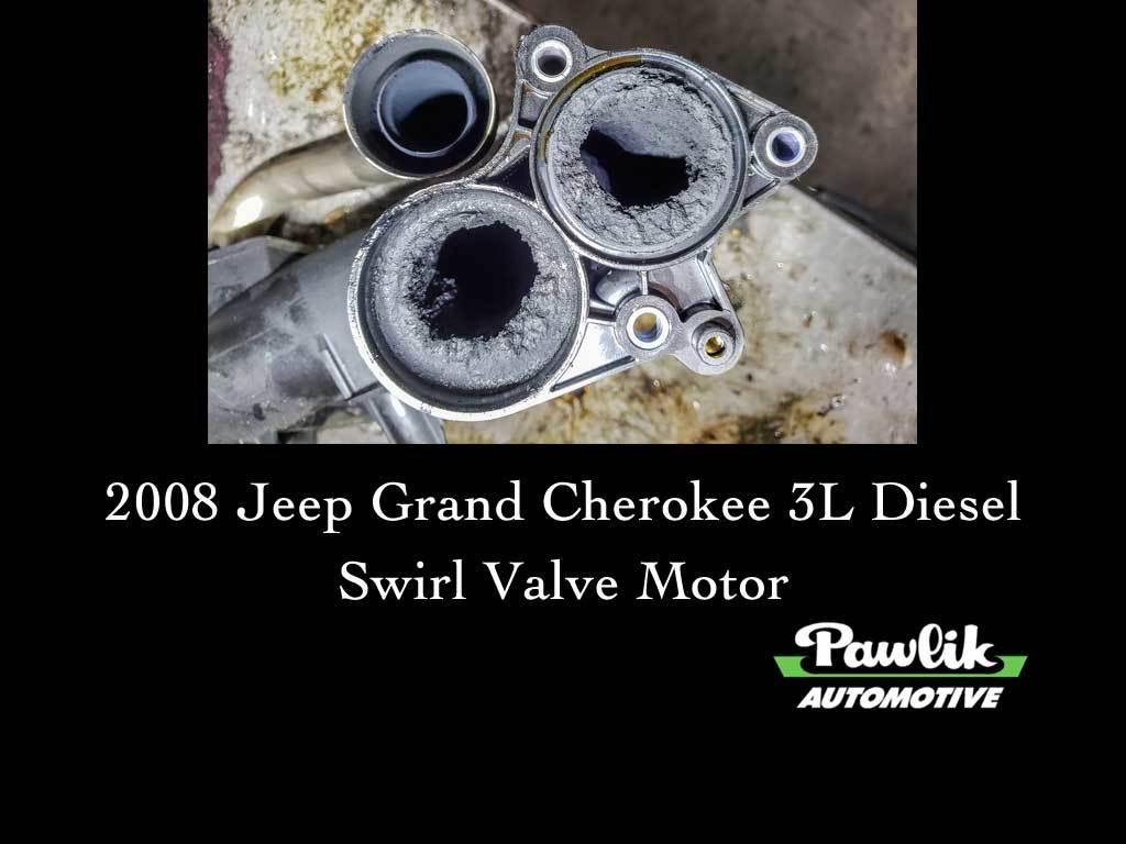 Ford 6.0 Diesel >> 2008 Jeep Grand Cherokee 3L Diesel-Swirl Valve Motor ...