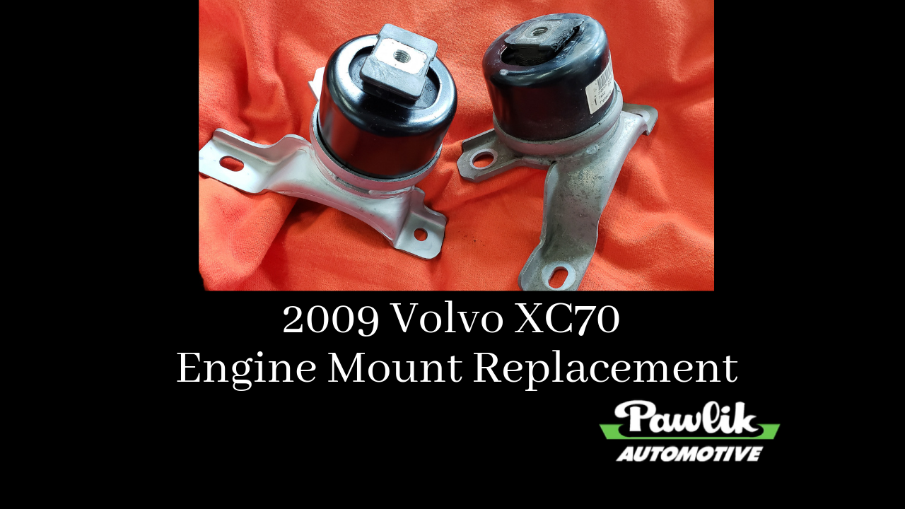 2009 Volvo Xc70 Engine Mount Replacement