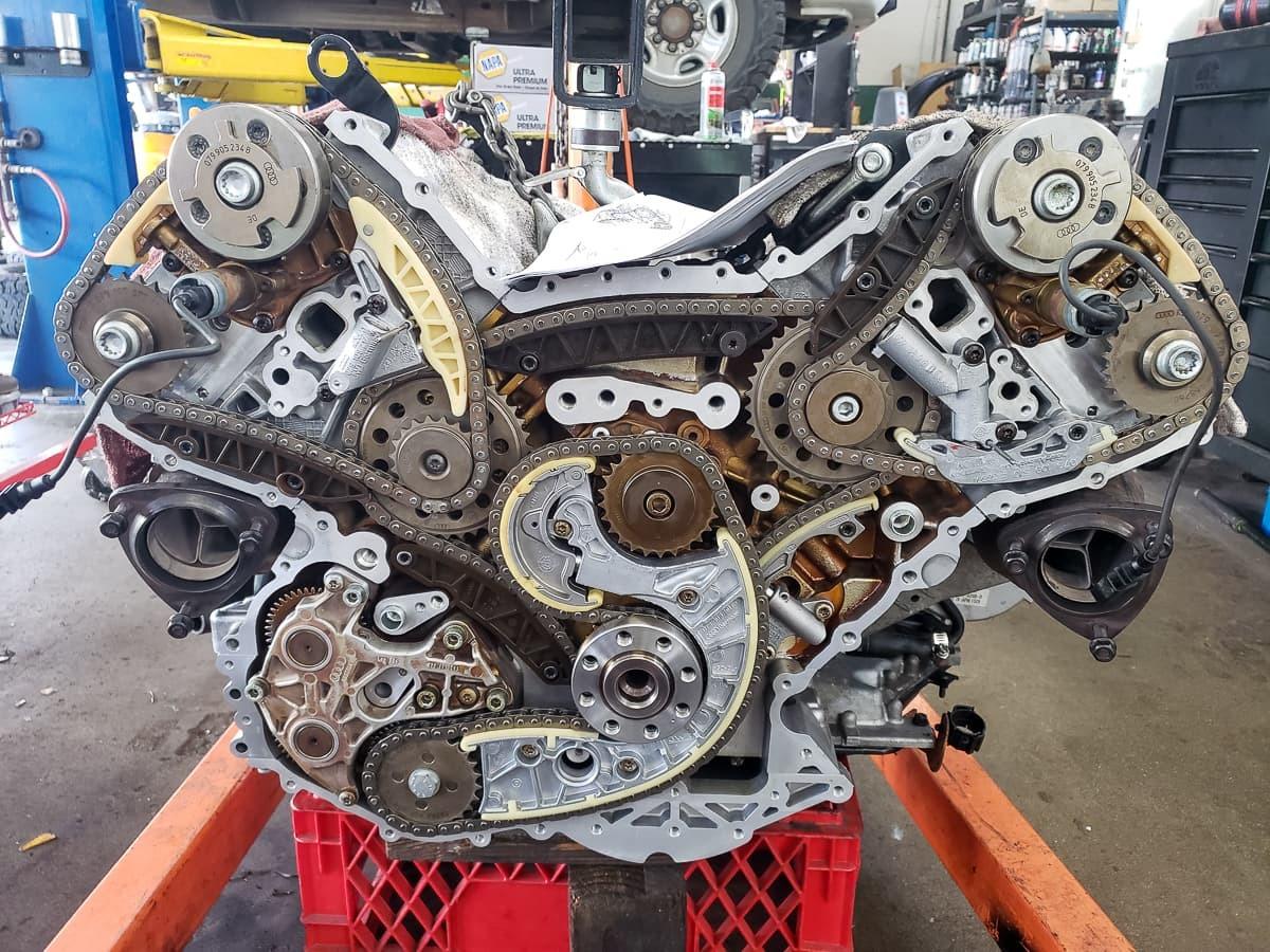 2004 Audi S4 Avant, Engine Repairs
