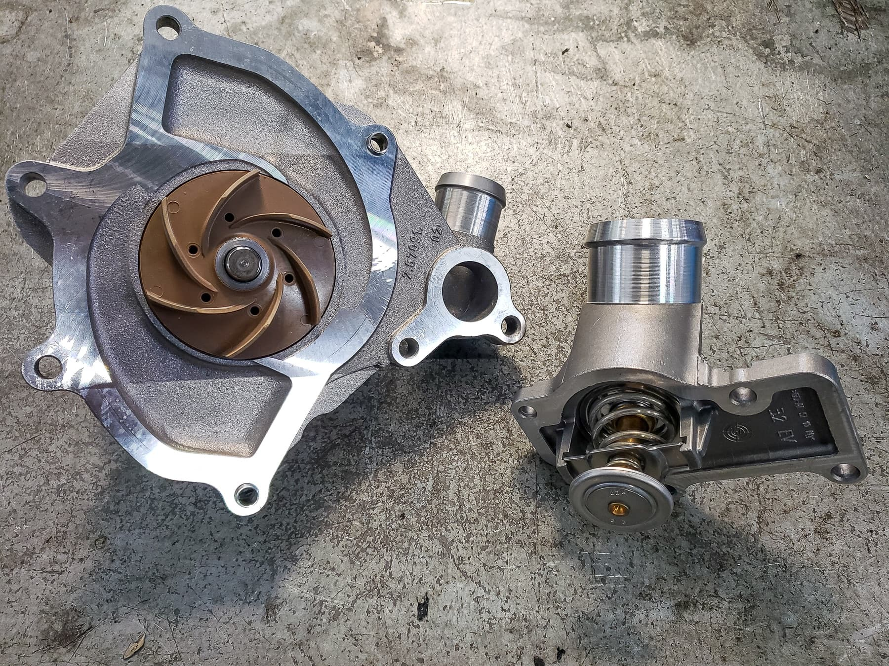 2007 Porsche 911 4S  Water Pump Replacement