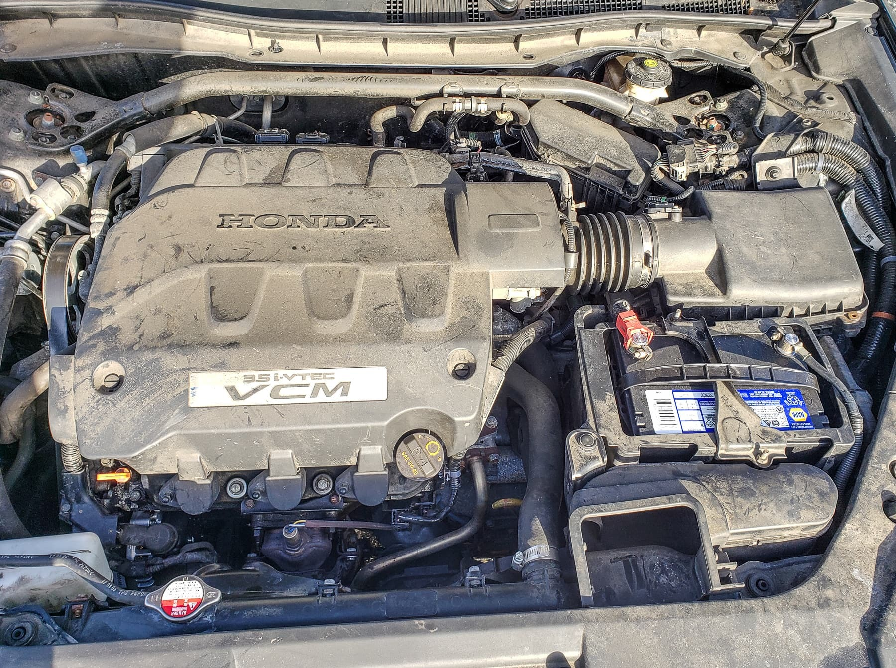 2010 Honda Crosstour, Alternator Replacement