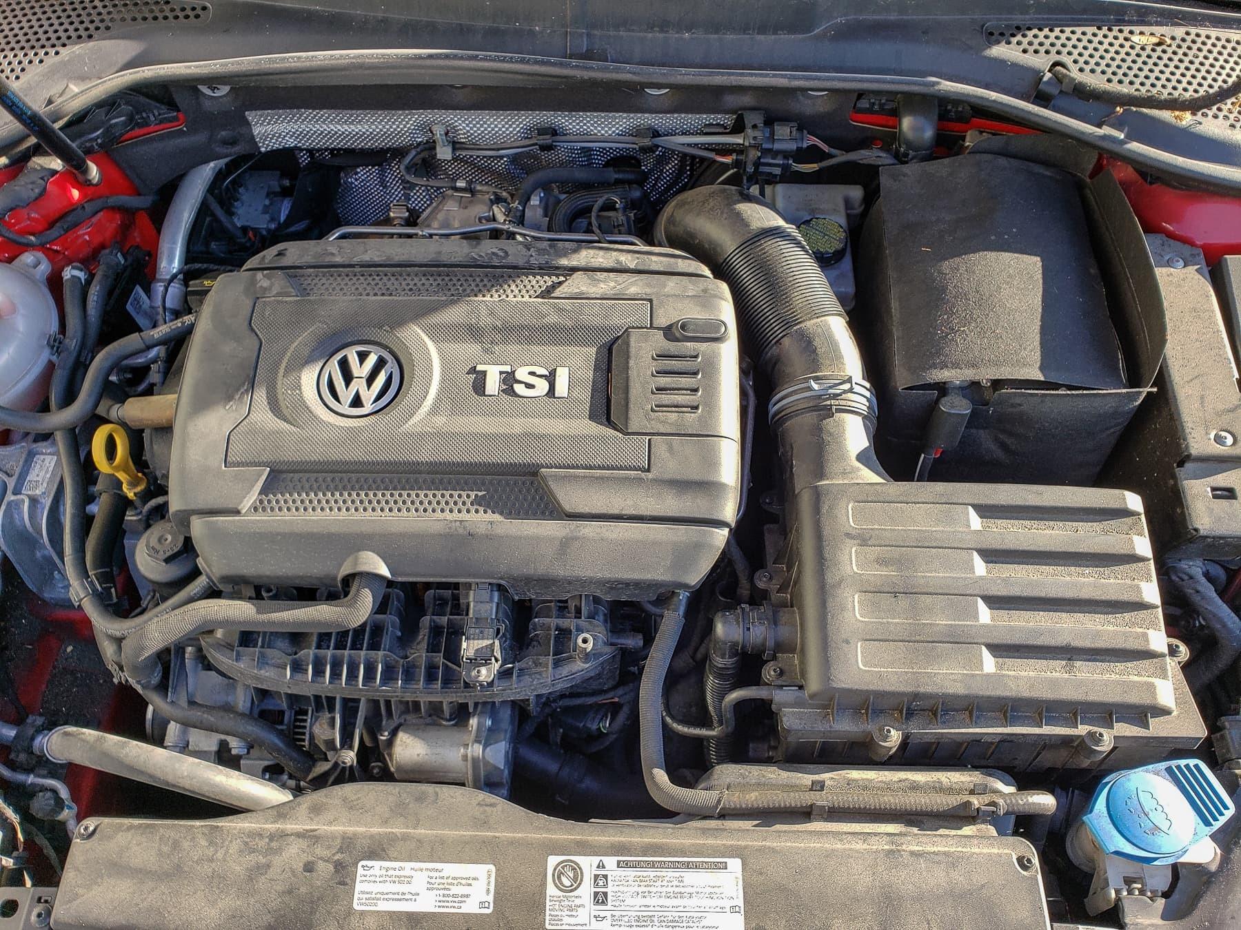 2017 VW Golf, Maintenance Services